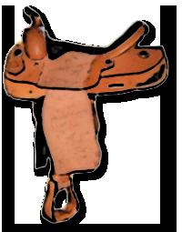 Westernové sedlo levné
