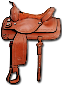 Westernové sedlo kvalitní